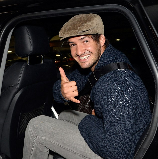 Brazil striker Alexandre Pato arrives at Heathrow Airport from Sao Paulo, he is expected to join Chelsea on loan untill the end of the season. picture David Dyson
